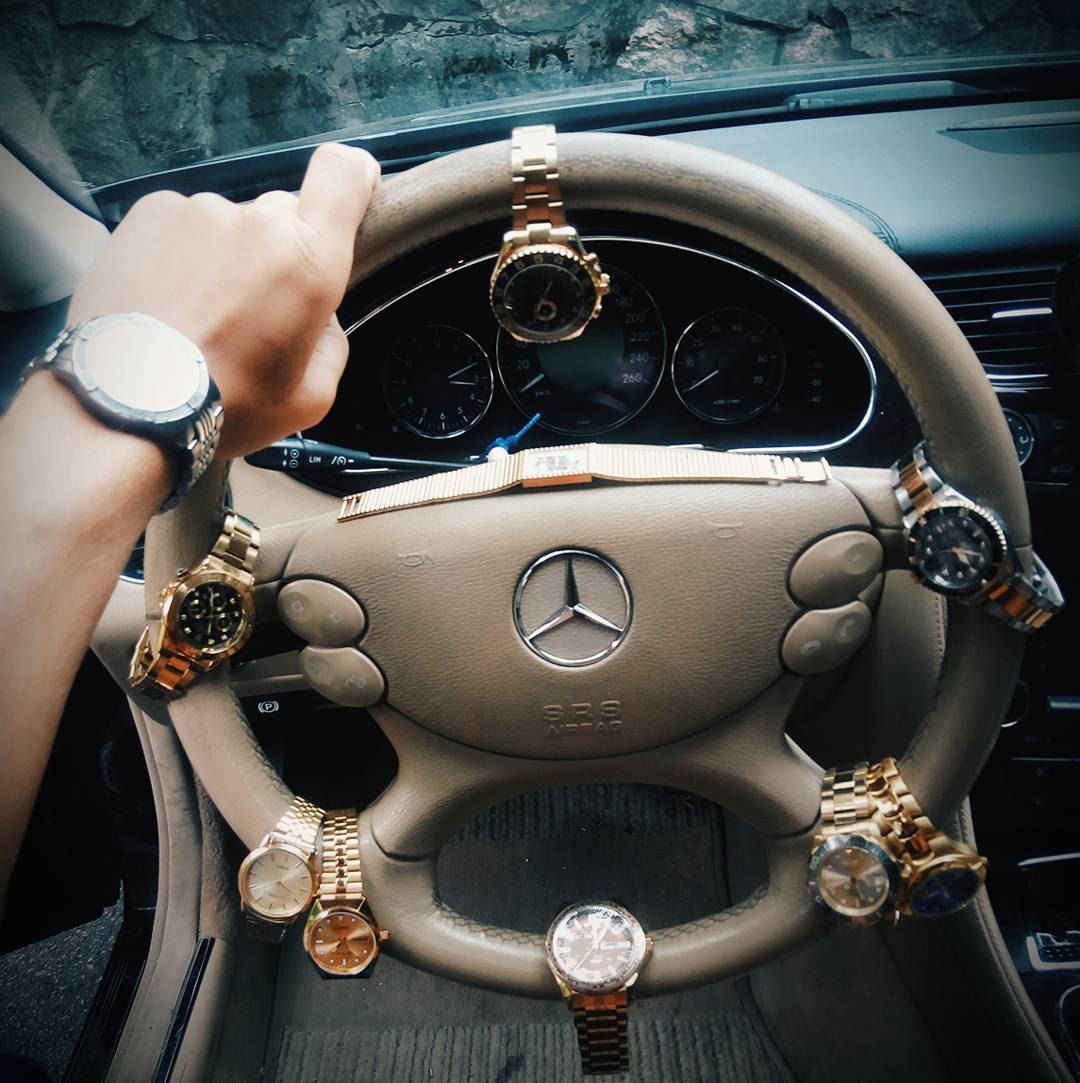 Rich Kids Of Instagram News What Goes With The Merc