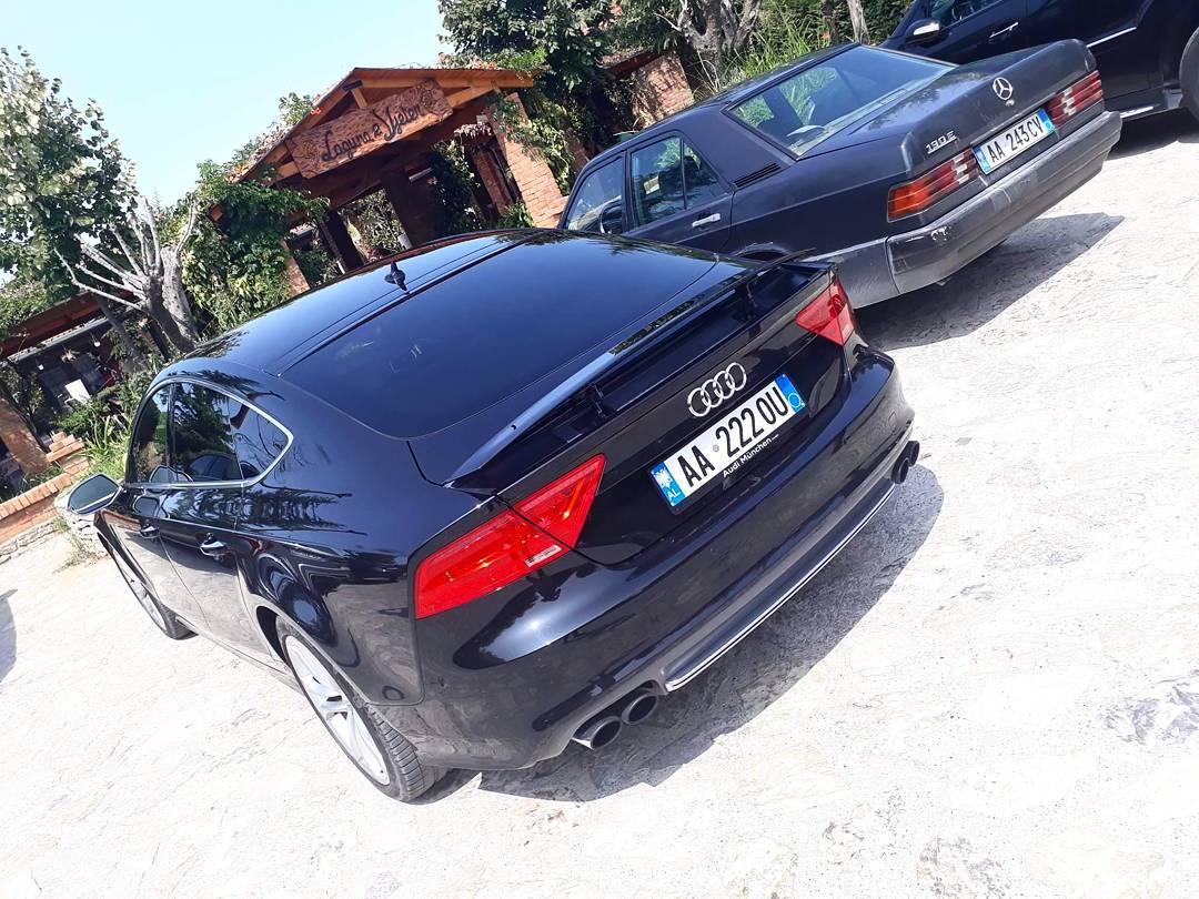 Rich Kids Of Albania Audi A Matteodashi Audi Audia - Aud audi