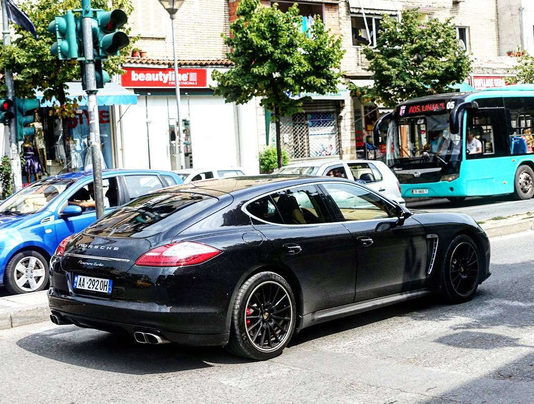 Rich Kids of Albania : •Porsche Panamera• Photo Credit ...