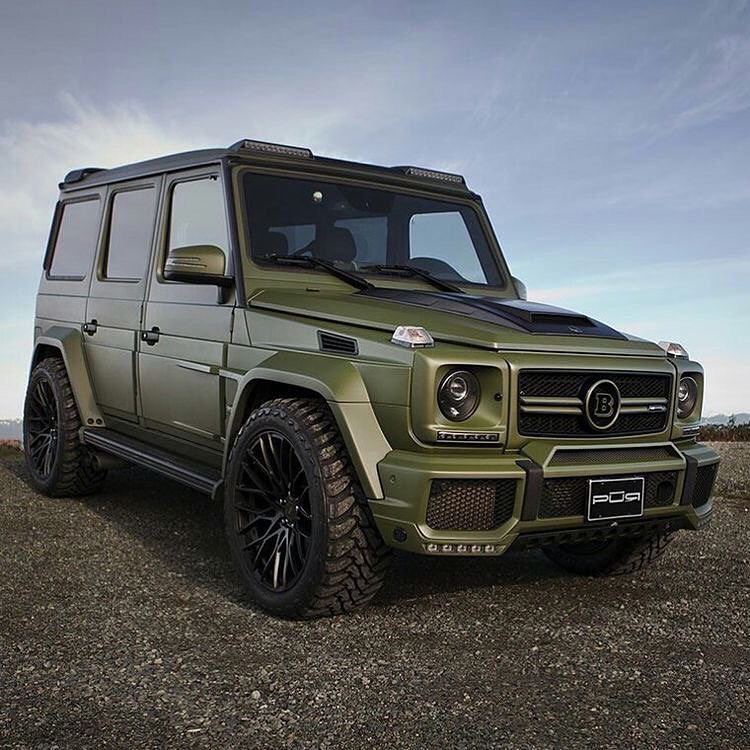 Rich Kids Of Instagram : News Brabus G63 -Follow For More